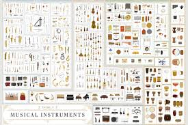 500 Musical Instruments In One Incredible Chart Simplemost