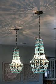 full image for turquoise beaded chandelier light fixture turquoise chandelier pendant lighting turquoise beaded chandelier kitchen