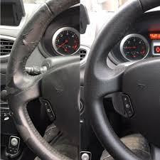 renault steering wheel repair
