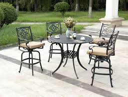8 person cast aluminum outdoor furniture bar table whole