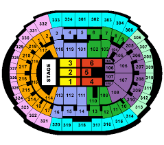 staple center seating chart concert staples center set to rock all year long tba