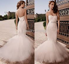 blush pink mermaid wedding dresses naf dresses
