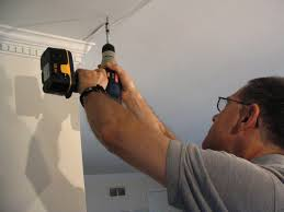 drill drywall s into ceiling attic support
