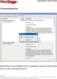 Elder S Triple Screen Rule For Chartnexus Xperttrader Pdf