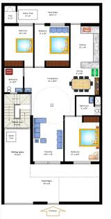 duplex house plans for 30x40 site elegant 35 x 70 west facing home plan small home
