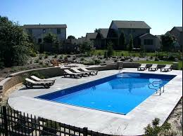 rectangle above ground pool sizes. Inground Pool Sizes Custom Rectangle Kits Above Ground Swimming And Shapes 0