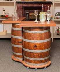 wine barrel wine rack furniture. you are sure to find a great spot in your home for this ingenious wine barrel rack furniture