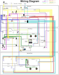 house wiring diagram of a typical circuit buscar con google with house wiring basics at House Wiring Connection Diagram