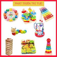 Combo 8 món đồ chơi gỗ an toàn thông minh cho Bé (ĐỒ CHƠI TRẺ EM),