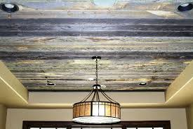 Stained wood ceiling and more DIY ideas for making your ceiling cool