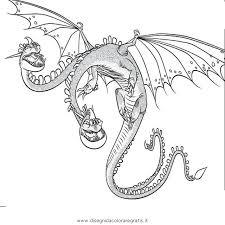 Disegno Dragontrainer24 Personaggio Cartone Animato Da Colorare