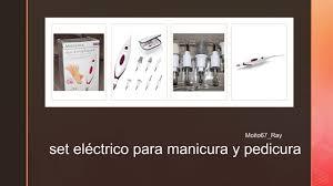 Set eléctrico para manicura y pedicura, <b>Medisana MP 815</b> 85153 ...