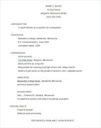 High School Resume Examples Pdf Gentileforda Com