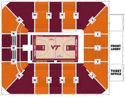 Virginia Tech Cassell Coliseum Blacksburg Virginia Bob