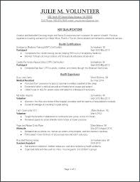 Sample Red Cross Resume