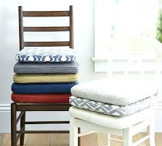 gripper chair cushions pads round seat for kitchen chairs brilliant within dining idea