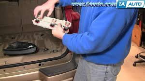 how to install repair replace taillight connector plate chevy trailblazer 02 09 1aauto com you