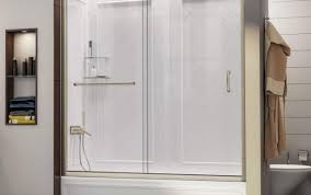 sterling door frameless basco sweep single scenic ove glass seal tub menards parts custom dreamline