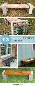 diy patio ideas pinterest. The Best DIY Projects \u0026 Ideas And Tutorials: Sewing, Paper Craft, DIY.  Best Diy Crafts Ideas For Your Home 13 Awesome Outdoor Bench Projects, Diy Patio Pinterest D