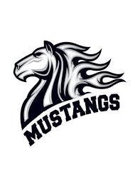 Kůň Mustangs Nalepovací Tetování