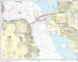 Alameda Tide Chart Noaa Nautical Chart 18650 San Francisco Bay Candlestick Point To Angel Island