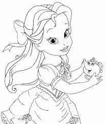Small Picture Disney Princess Coloring Pages Ariel and The Other Character