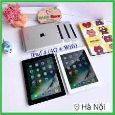 VBL2021 - Combo Máy Tính Bảng iPad 4 - 64/ 32/ 16Gb (Wifi + 4G)- Zin Đẹp  99% - Pin Khoẻ - Màn Rentina sắc nét