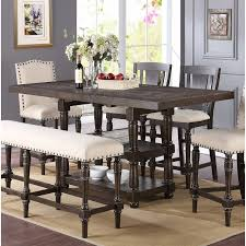 ... dining room perfect reclaimed wood dining table round dining room tables  in counter height extendable dining ...