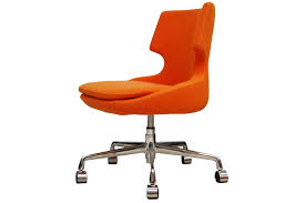 contemporary orange office chairs with regard to patara chair viesso plans 14
