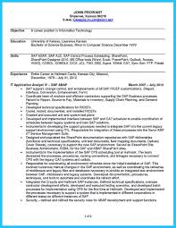 Sap Business Analyst Resume Create Your Astonishing Business Analyst Resume And Gain The Position 13