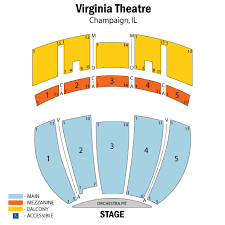 Virginia Theater Seating Chart Virginia Theatre Champaign Tickets Schedule Seating
