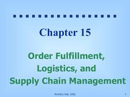 Order Fulfillment Logistics And Supply Chain Management