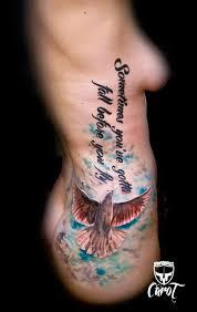 Tetování Holubice A Nápis Tetování Tattoo