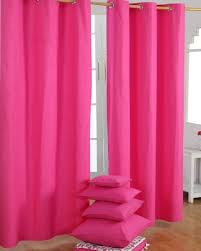 Pink Curtains, Pink Blackout Curtains, Pink Eyelet Curtains