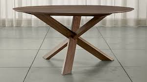lovely apex 64 round dining table crate and barrel round dining