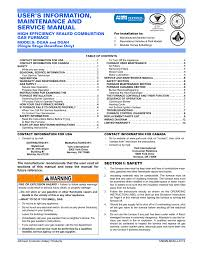 User S Information Maintenance And Service Manual