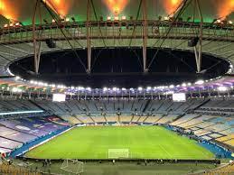 ملعب ماراكانا قبل أقل من ساعتين على نهائي #كوبا_أمريكا 2021 بين  #البرازيل_الارجنتين #CopaAmerica - نيولي
