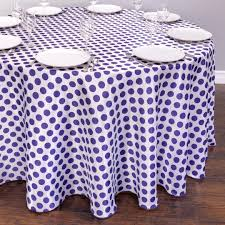 polka dot tablecloth black and white vinyl plastic round red