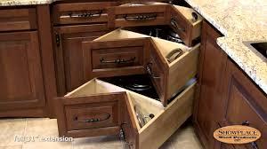 square corner three drawer base showplace kitchen convenience accessories you