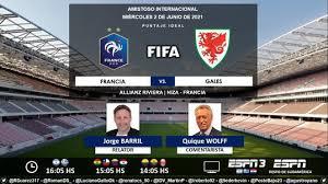 El sábado desde las 16, en vivo por espn play, francia recibe a gales en un duelo que servirá francia: Y0wxiascu 9ljm