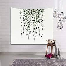HYSENM <b>Tropical Plant Monstera</b> Tapestry Banana <b>Leaves</b> Wall Art ...