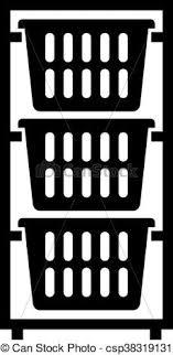 laundry basket clipart. Laundry Basket Dresser - Csp38319131 Clipart