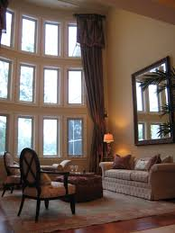 Living Room With High Ceilings Decorating Best Ideas About High Curtains On Pinterest Curtain Decoration
