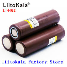 2019 <b>NEW LiitoKala</b> HG2 18650 battery 3000mah Rechargeable ...