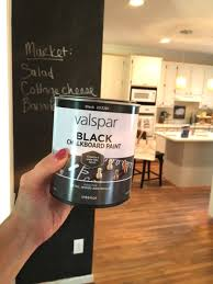 this diy chalkboard wall was a breeze to put together all you need is a