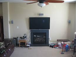 tv fireplace too high fireplace ideas