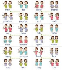 Baby Sign Language Chart Baby Sign Language Chart Self Print Version The Printable