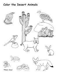 Small Picture Desert Animals Art Coloring Coloring Pages
