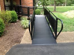 wheelchair ramps for stairs residential