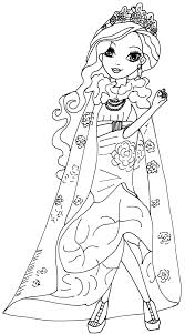Briar Beauty Legacy Day Coloring Page